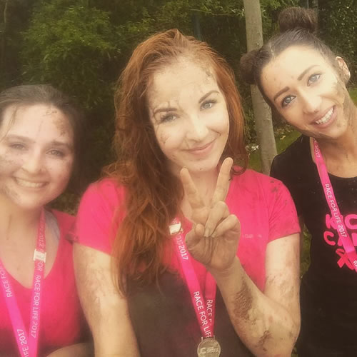 Alextra Women Take On Pretty Muddy For Cancer Research