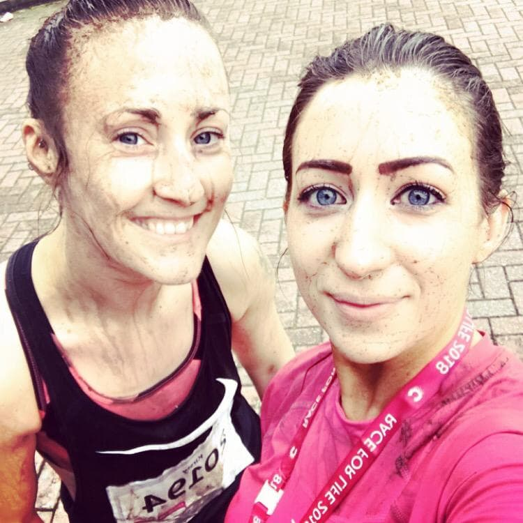 Alextra Women Take On Pretty Muddy 2018