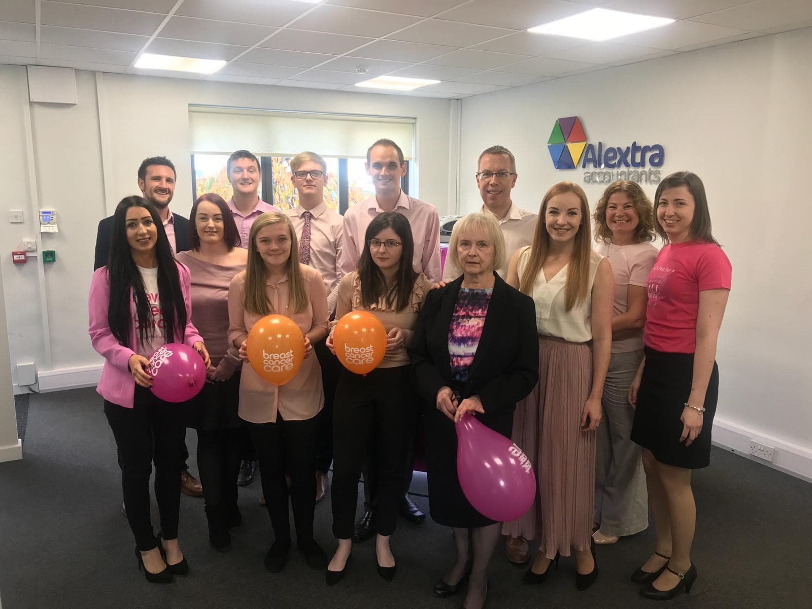 The Alextra Team Support Wear It Pink