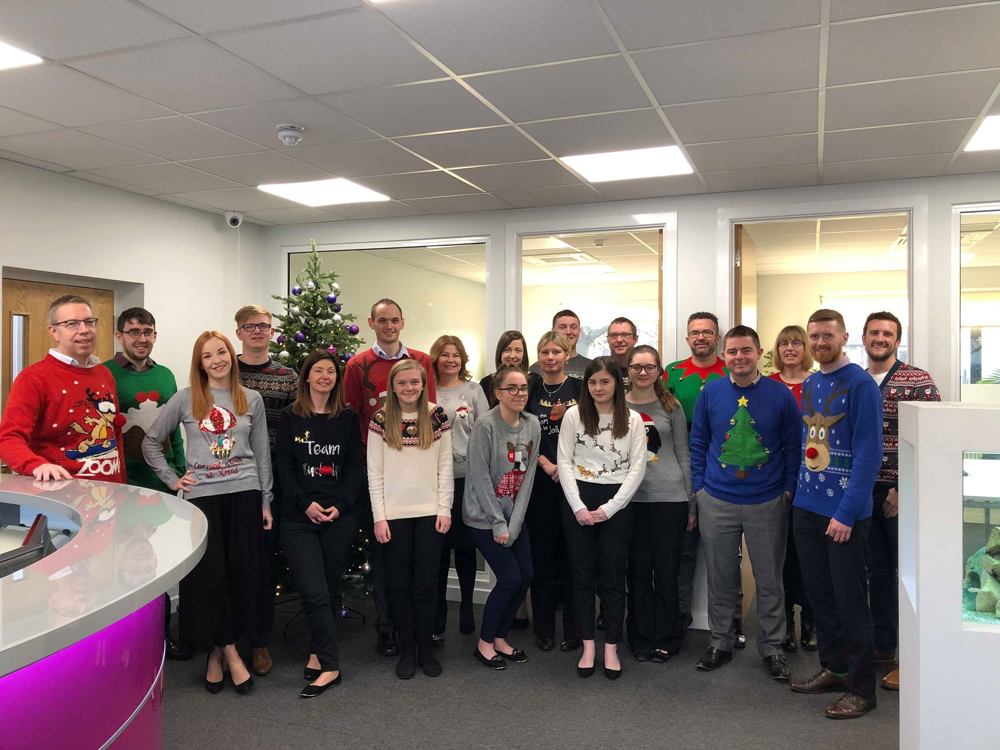 Donning The Knitwear For Christmas Jumper Day