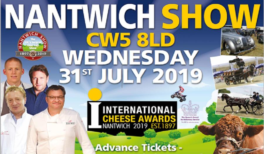 The Nantwich Show – 31st July 2019