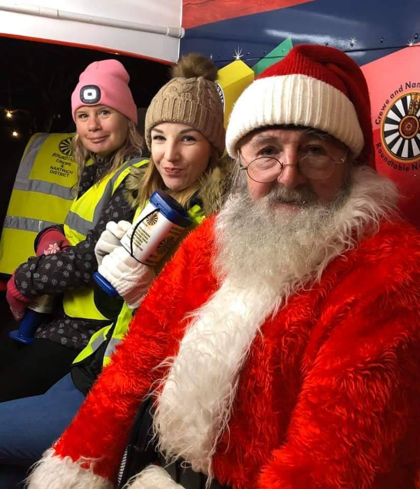 Spreading Christmas Cheer with the Crewe & Nantwich Round Table