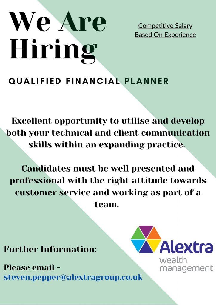 Alextra Wealth Management Hiring